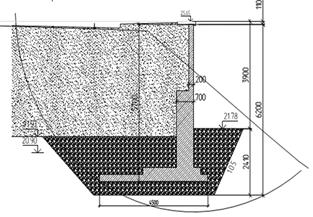 Технология строительства подпорных стен из армированного грунта тенсар