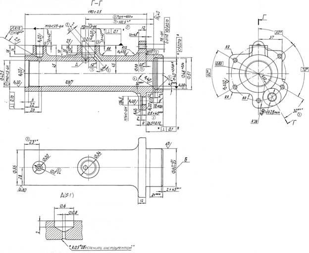 Рисунок 1 – Цилиндр главный